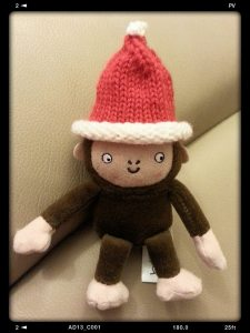 Knitted Mini Christmas Santa Hat